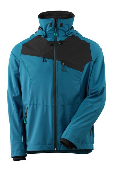 MASCOT® ADVANCED - dark petroleum/black - Jacket, four-way stretch, waterproof, lightweight