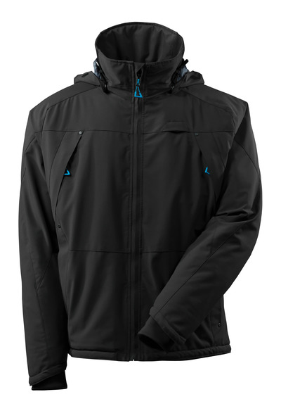 MASCOT® ADVANCED - black - Winter Jacket with CLIMASCOT®, waterproof