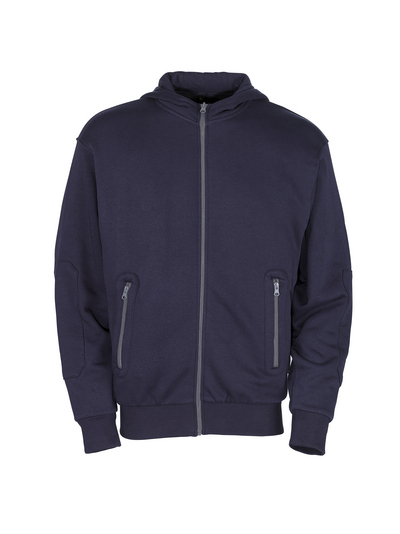 MASCOT® Altea - navy - Hoodie with zipper, modern fit