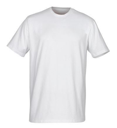 MASCOT® Argana - white - Under Shirt with small V-neck and short sleeves, modern fit