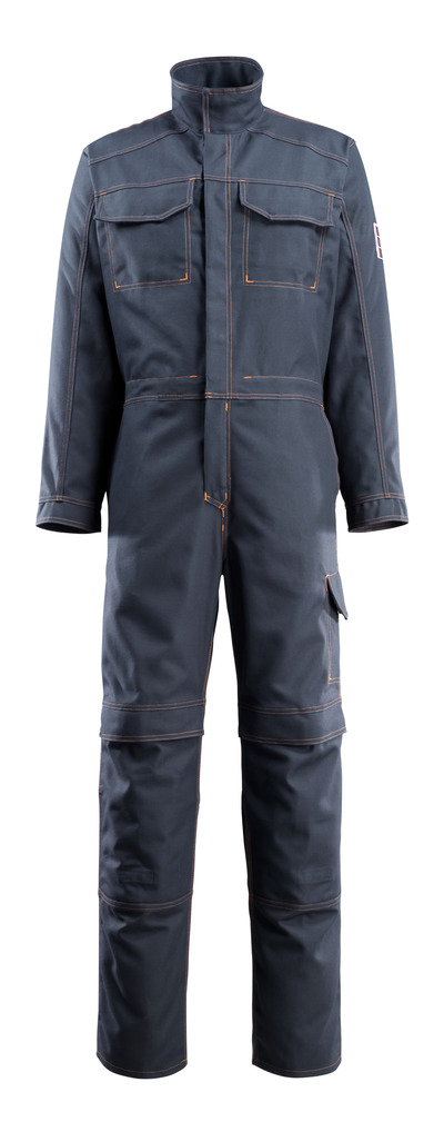 MASCOT® Baar - dark navy - Boilersuit with kneepad pockets, multi-protective