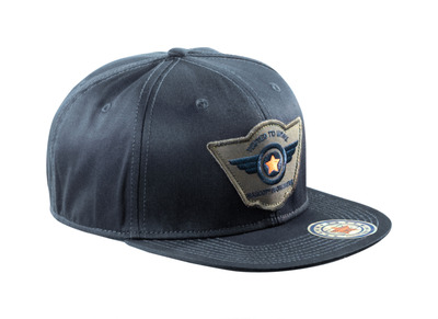 MASCOT® Bayville - dark navy - Cap with ventilated air holes, adjustable, with embroidery