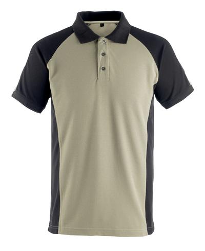 MASCOT® Bottrop - light khaki/black* - Polo Shirt