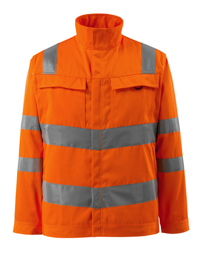 MASCOT® Bunbury - hi-vis orange - Jacket, high durability, single coloured, class 3