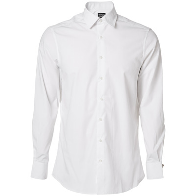 MASCOT® CROSSOVER - white - Shirt, poplin, modern fit