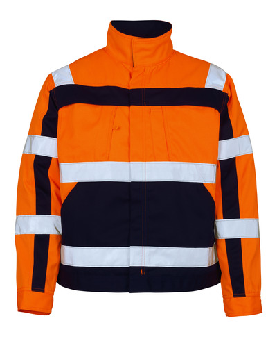 MASCOT® Cameta - hi-vis orange/navy - Jacket, high durability, class 2