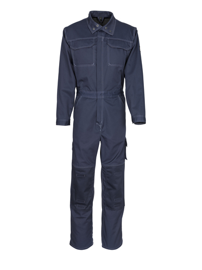 MASCOT® Danville - dark navy - Boilersuit with kneepad pockets, cotton