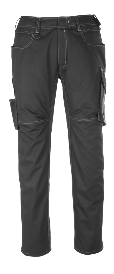 MASCOT® Dortmund - black/dark anthracite - Trousers, high durability