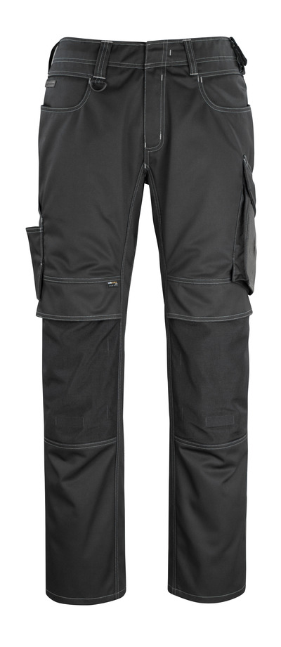 MASCOT® Erlangen - black/dark anthracite - Trousers