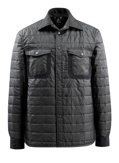 MASCOT® Fraga - black - Shirt with lining and press studs