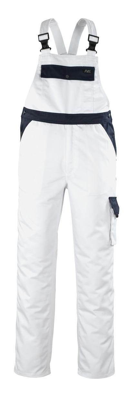 MACMICHAEL® Franca - white/navy* - Bib & Brace