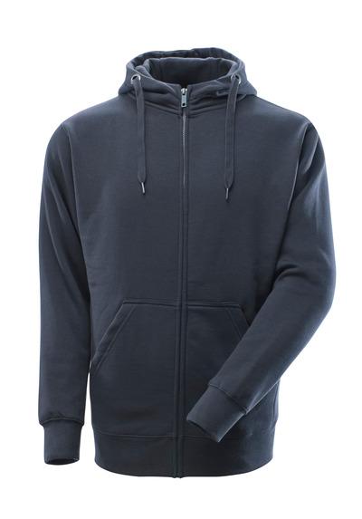 MASCOT® Gimont - dark navy - Hoodie with zipper, modern fit
