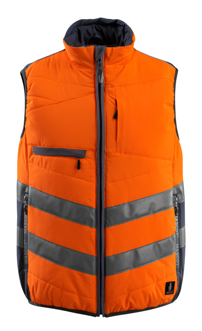 MASCOT® Grimsby - hi-vis orange/dark navy - Gilet