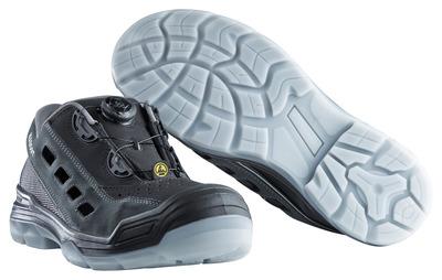 MASCOT® Grofa - black/anthracite - Safety Sandal