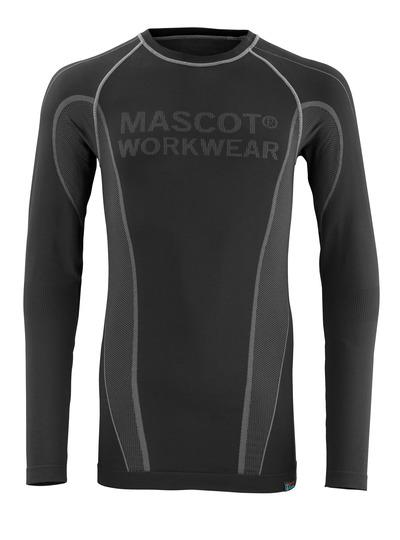 MASCOT® Hamar - black - Thermal Under Shirt