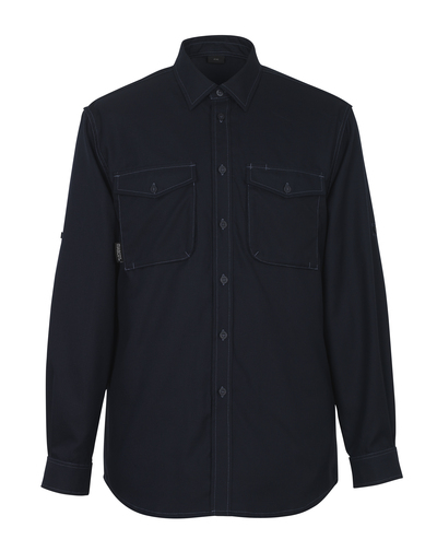 MASCOT® Hampton - dark navy - Shirt, modern fit