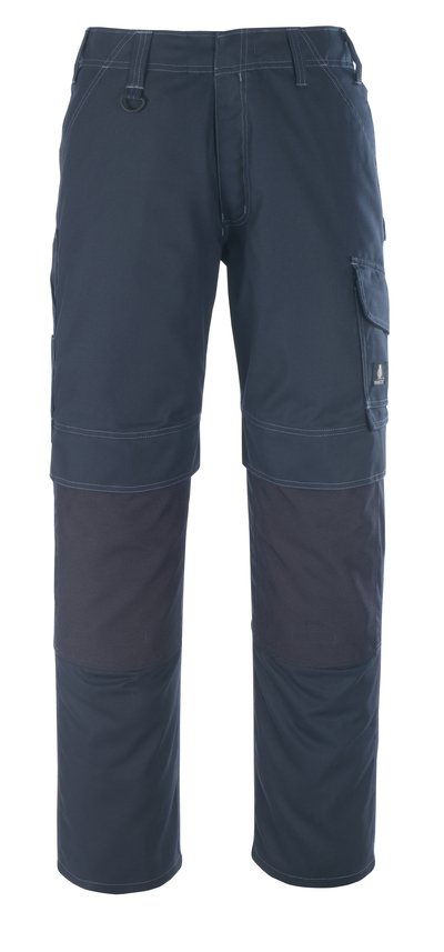 MASCOT® Houston - dark navy - Trousers with kneepad pockets, lightweight