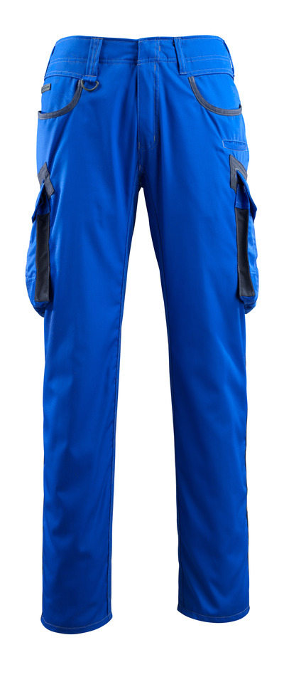 MASCOT® Ingolstadt - royal/dark navy - Trousers with thigh pockets, extra lightweight