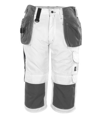 MASCOT® Jaca - white* - Craftsmen's ¾ Trousers