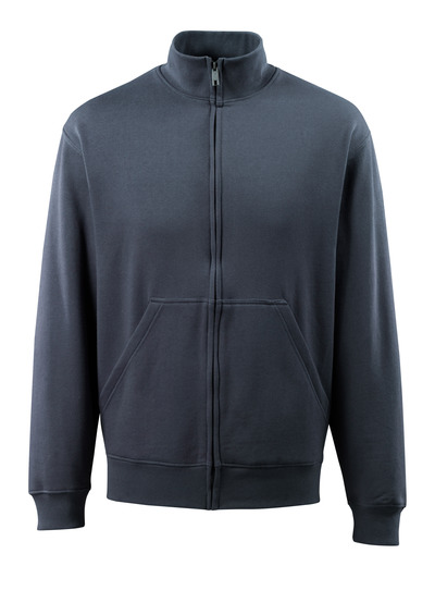 MASCOT® Lavit - dark navy - Sweatshirt with zipper, modern fit