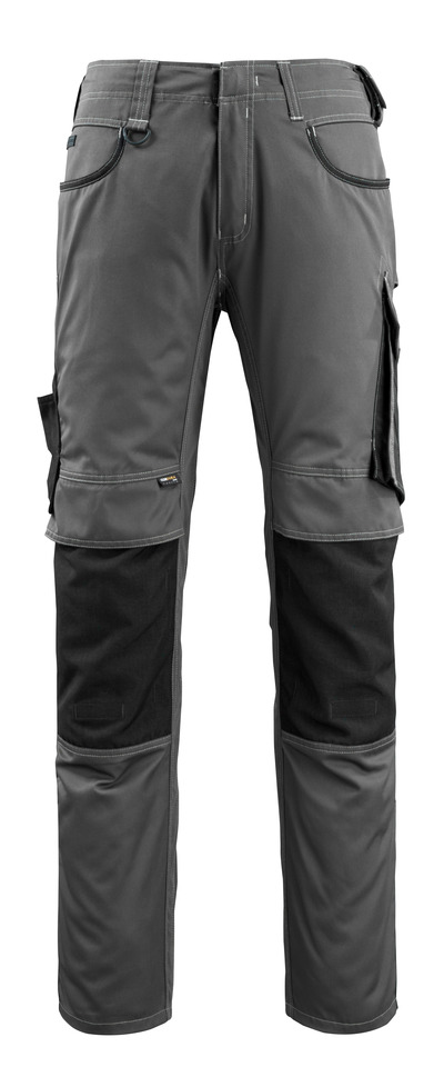 MASCOT® Lemberg - dark anthracite/black - Trousers with CORDURA® kneepad pockets, extra lightweight