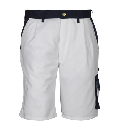 MASCOT® Lido - white/navy*/¹) - Shorts, high durability