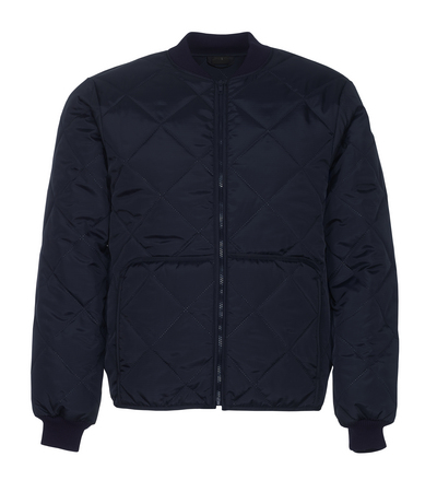 MASCOT® London - navy - Thermal Jacket with front pockets