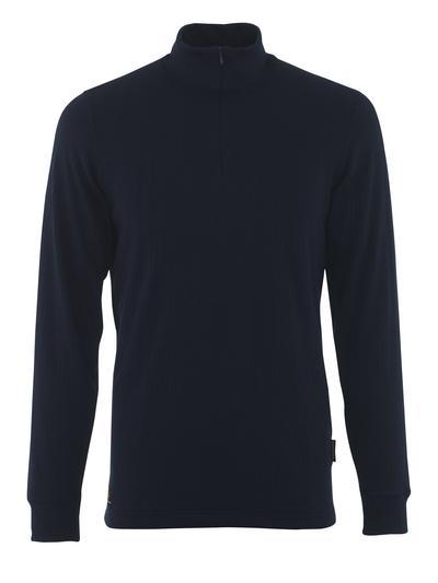 MASCOT® Ludvika - navy - Functional Under Shirt, moisture wicking, insulating
