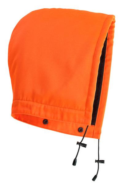MASCOT® MacAllen - hi-vis orange - Hood with press studs