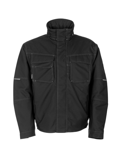 MASCOT® Mataro - black - Pilot Jacket with quilted lining, waterproof MASCOTEX®
