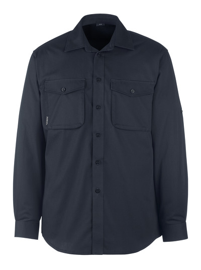 MASCOT® Mesa - dark navy - Shirt, modern fit