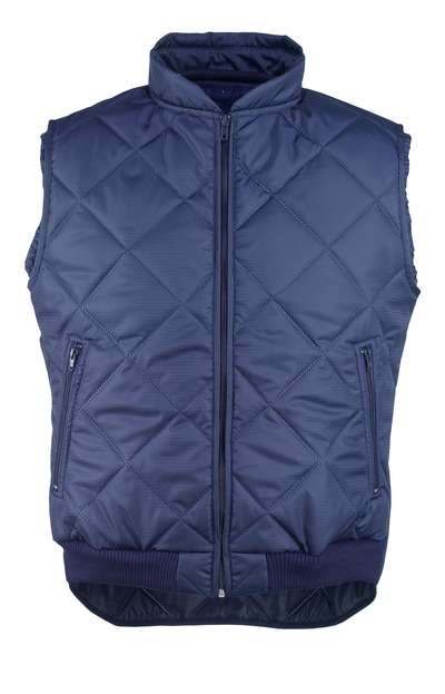 MASCOT® Moncton - navy - Thermal Gilet with front pockets with zippers