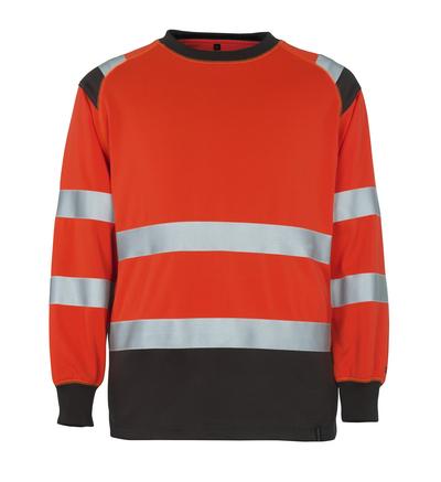 MASCOT® Montijo - hi-vis red/dark anthracite* - Sweatshirt, classic fit, class 2