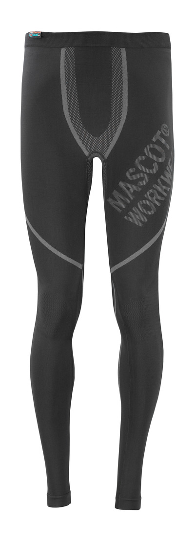 MASCOT® Moss - black - Thermal Under Trousers
