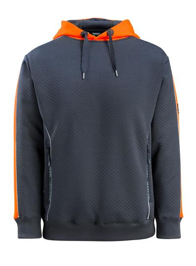 MASCOT® Motril - dark navy/hi-vis orange - Hoodie