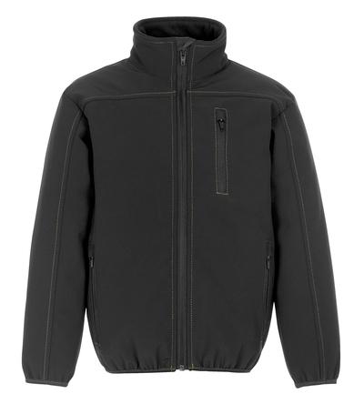 MASCOT® Napa - black* - Softshell Jacket for children