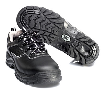 MACMICHAEL® Nesthorn - black - Safety Shoe S3 with laces