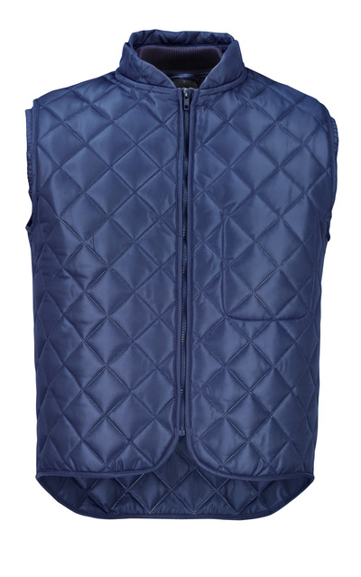 MASCOT® ORIGINALS - navy - Thermal Gilet with chest pocket.