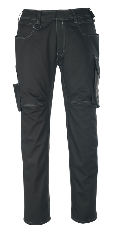 MASCOT® Oldenburg - black/dark anthracite - Trousers, lightweight