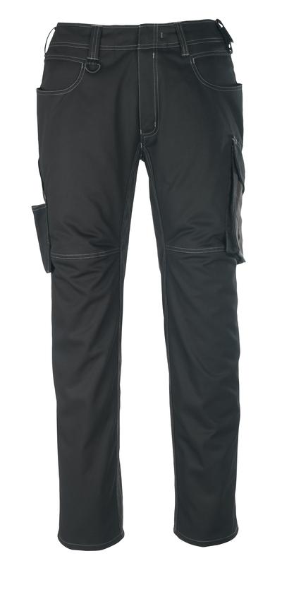 MASCOT® Oldenburg - black/dark anthracite - Trousers