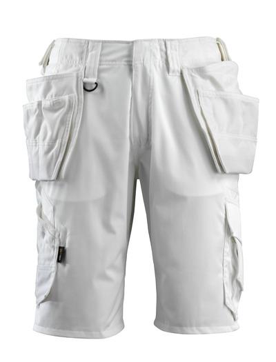 MASCOT® Olot - white - Craftsmen's Shorts
