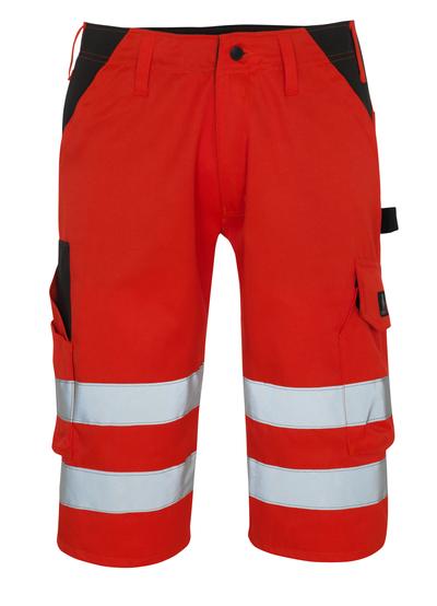 MASCOT® Orada - hi-vis red/dark anthracite* - ¾ Length Trousers
