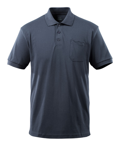 MASCOT® Orgon - dark navy - Polo Shirt with chest pocket, modern fit