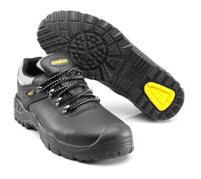 MASCOT® Oro - black/yellow - Safety Shoe S3 with laces