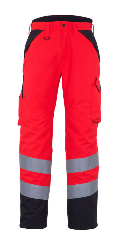 MASCOT® Palmela - hi-vis red/dark anthracite* - Winter Trousers