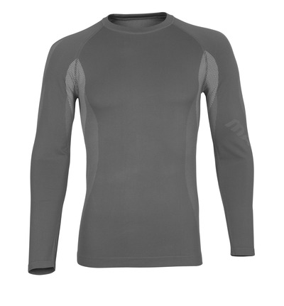 MASCOT® Parada - light grey* - Functional Under Shirt, lightweight, moisture wicking