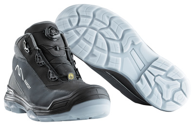 MASCOT® Petros - black/anthracite - Safety Boot S3 with Boa® closure