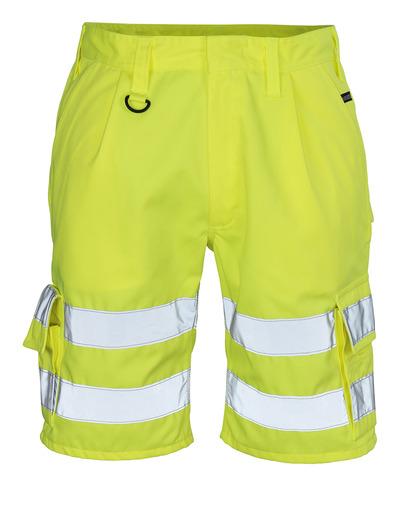 MASCOT® Pisa - hi-vis yellow - Shorts, class 1