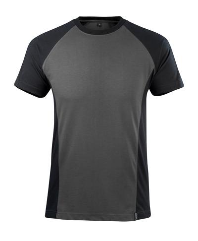 MASCOT® Potsdam - dark anthracite/black - T-shirt