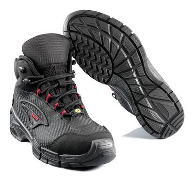 MASCOT® Preston - black/red* - Safety Boot